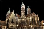 Naumburger Dom bei Nacht