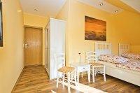 Zimmer 3 der Pension in Schönburg Saale